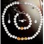 Conjunto De Perlas Para Novia