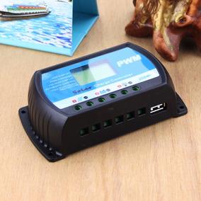 Controlador Carga 30a Paineis Solares Regulador Com Lcd Usb