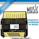Pancotti Acordeon 24 Bajos - Bm Music Boulogne -