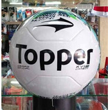 Bola Futebol Campo Oficial Toppe Kv Carbon- Costurada À Mão