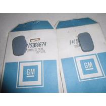 Tampa Da Alça Do Teto Blazer E S10 Cinza Original Gm