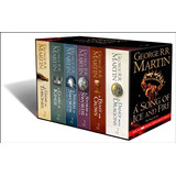 Game Of Thrones Box (6 Libros) - George R.r. Martin (ingles)