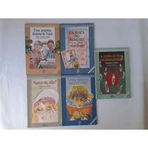 Livro Antigo Tirando De Letra Atual Editora Lote 5 Livros