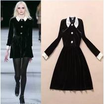 Vestido Corto Tipo Merlina Pastel Goth Cosplay Gotico Casual