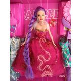 Boneca Isabella Fashion Doll Com 11 Vestidos E Acessorios