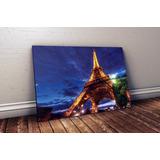Quadro Decoração Paris Torre Eiffel - 44x30 Cm