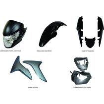Carenagem Kit Completo Titan 150 Preto 2011/2012/2013