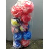 Pelota Plástico Marmolada 22cm En July Toys