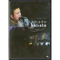 Amado Batista Dvd Acustico Lacrado Original