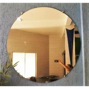 Espelho Diâmetro30cm C/botões Ou Sob Medidas- Peça Orçamento