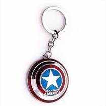 Chaveiro Capitão América Escudo Marvel Avengers Vingadores