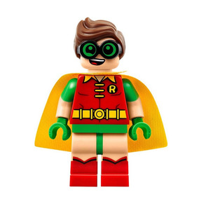 Figura Sx 02 Compañero De Batman Robin Compatible Lego
