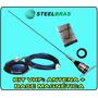 Antena Vhf Py 1/4 + Base Magnética Steelbras   Frete Grátis