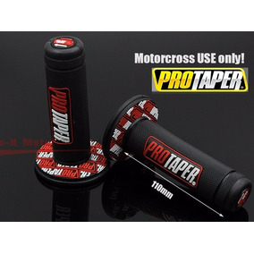 Manopla Protaper Vermelho Motocross Trilha Moto Enduro