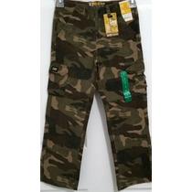 Lee Pantalon Cargo Camuflaje Para Niños Tallas Desde 2 - 6