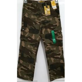Lee Pantalon Cargo Camuflaje Para Niños Tallas Desde 2 - 4
