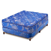 Sommier Y Colchon Piero Resortes Continental Pillow 2 1/2 P.