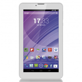 Tablet Hd 7 Polegadas 8gb 3g E Wi Fi 2 Chip Multilaser Nb224