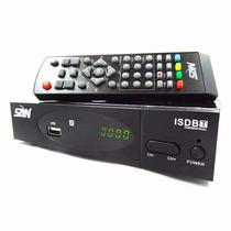 Conversor Tv Digital H D T V Função Gravador Hdmi Full Hd