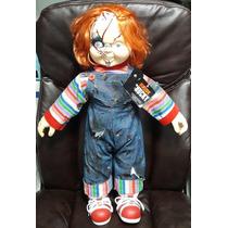 Boneco Chucky - Versão Bride Of Chucky - Tamanho Real 65cm