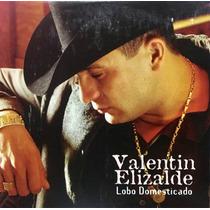 Cd Valentin Elizalde Lobo Domesticado Promo Usado