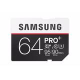 Memoria Sdxc Samsung 64gb Pro+ U3 Ideal Para Video 4k