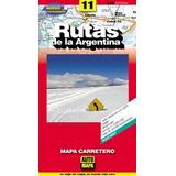Rutas De La Argentina - Mapa Carretero - - Automapa