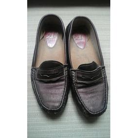 Zapatos Mocasin Damas Talla 38 Marca Ana T ( Usado )