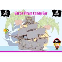 Barco Galeon Candy Bar Fibrofacil