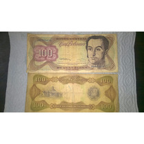 Billete 100 Bolivares Año 1992 - Venezuela