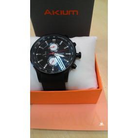 274993fe918 Relogio Akium Steel Date Full - Relógios De Pulso