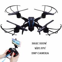 Drone Con Cámara Wifi Fpv 2 Mpx Tiempo Real Retorno Automáti