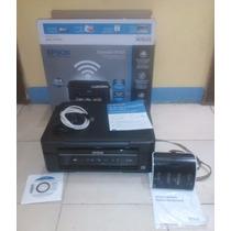 Impresora Epson Xp 201 + Sistema De Tinta Continua
