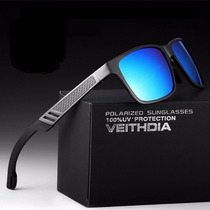 Lentes De Sol Polarizado Uv400 Gafas Aluminio Veithdia Hd