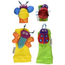 Lamaze - Sonajeros Para Muñeca Y Calcetines Insectos (tomy L
