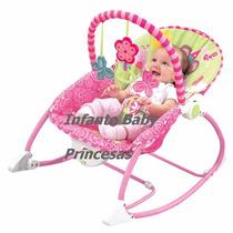 Cadeira Descanso Bebê Musical Vibratória E Balanço Babystyle