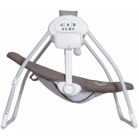 Cadeira Descanso Bebê Musical Eletrônica Balanço Galzerano