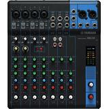 Yamaha Mg10 - Mixer 10 Channel - Distribuidor Oficial !!