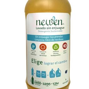 Jabón Biodegradable Newen 1 Lt Sin Enjuague Ahorrador
