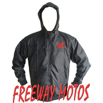 Campera Rompevientos Honda Cg Twister Tornado Freeway Moto !