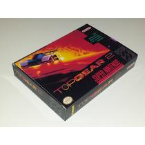 Caixa Top Gear 2 + Berço Incluso, Super Nintendo!!