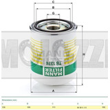 Filtro Ar Ford Cargo/iveco/mb/scania/volvo/vw Caminhoes - Si