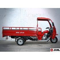 Motocarro Caja Larga Sunl 300 Cc Con Cabina Nuevo