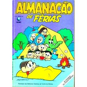 Almanacão De Férias Da Turma Da Mônica Nº 5 (globo-1989)