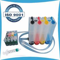 Kit 4 Tinta + Sistema Continuo Cx5600 Tx100 T21 Tx110 Cx7300
