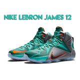Nike Lebron James 12 Botas Zapatos Shoes Botín Botines Botas