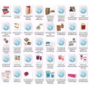 Kit Caixas E Outros - 2000 Arquivos De Corte Para Silhouette
