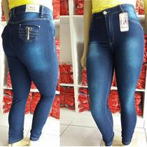 Calça Legue Jeans Tamanho Extra Especial 46 Ao 54 Com Laycra