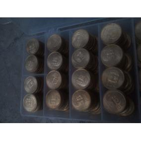 13 Monedas 20 Centavos Olmeca Brillo Oro Para Arras