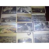 Postales Antiguas Banco Nacion Dique Estacion Tren Lote 2